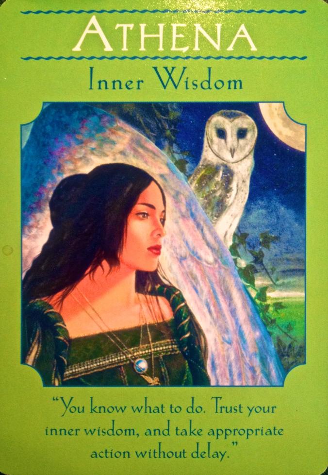 Goddess Athena, Inner wisdom