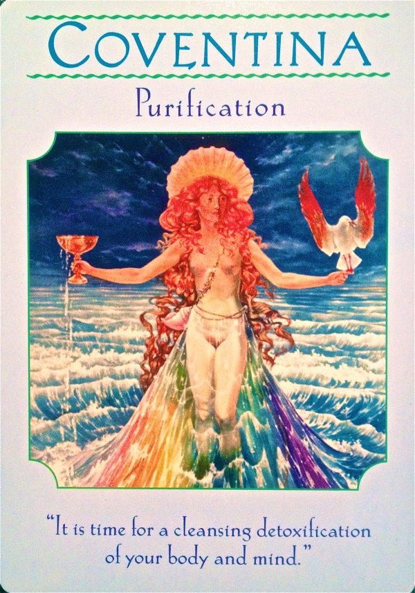 Goddess Coventina purification