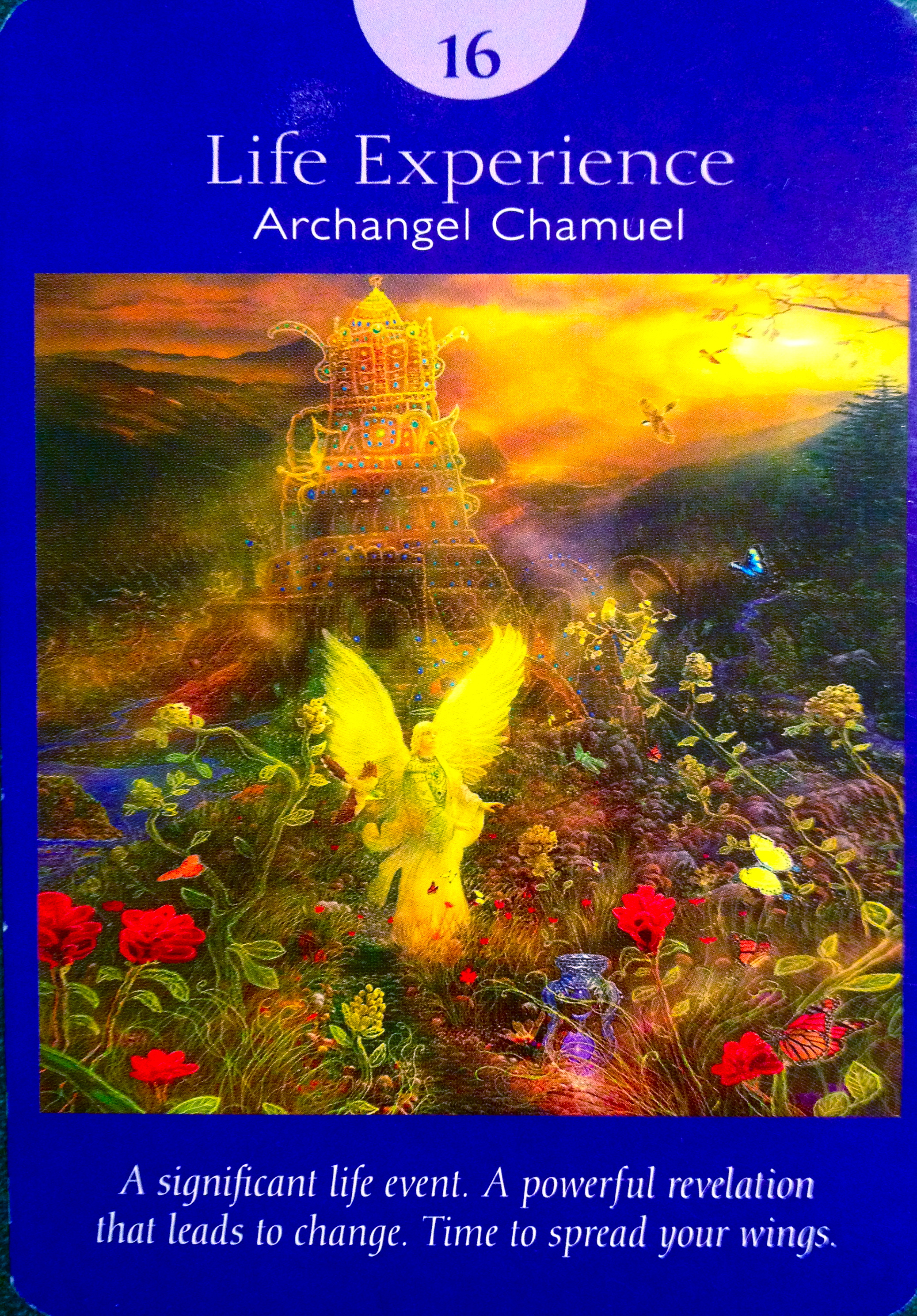 Archangel Chamuel Life Experience Archangel Oracle
