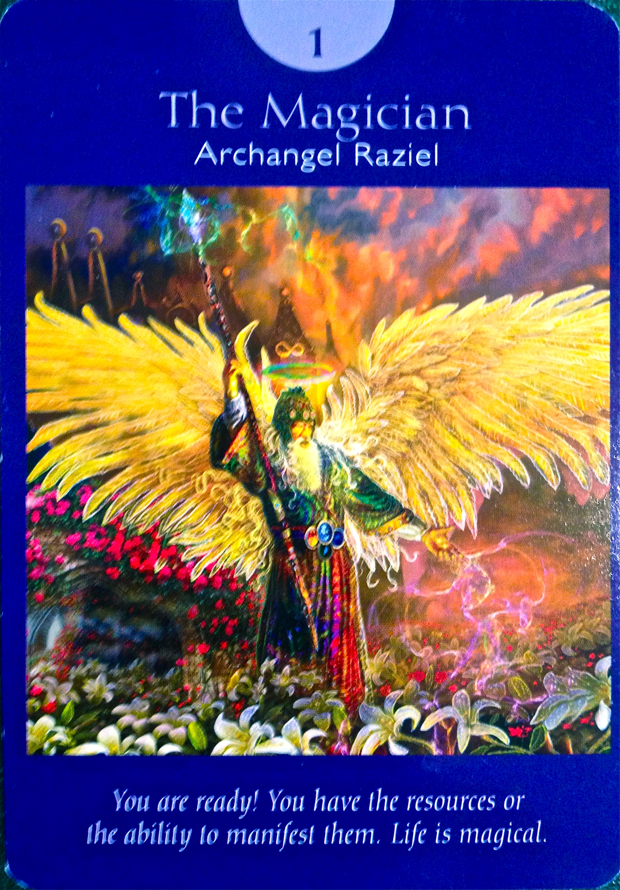 Archangel Oracle Divine Guidance: Archangel Raziel ~ The Magician