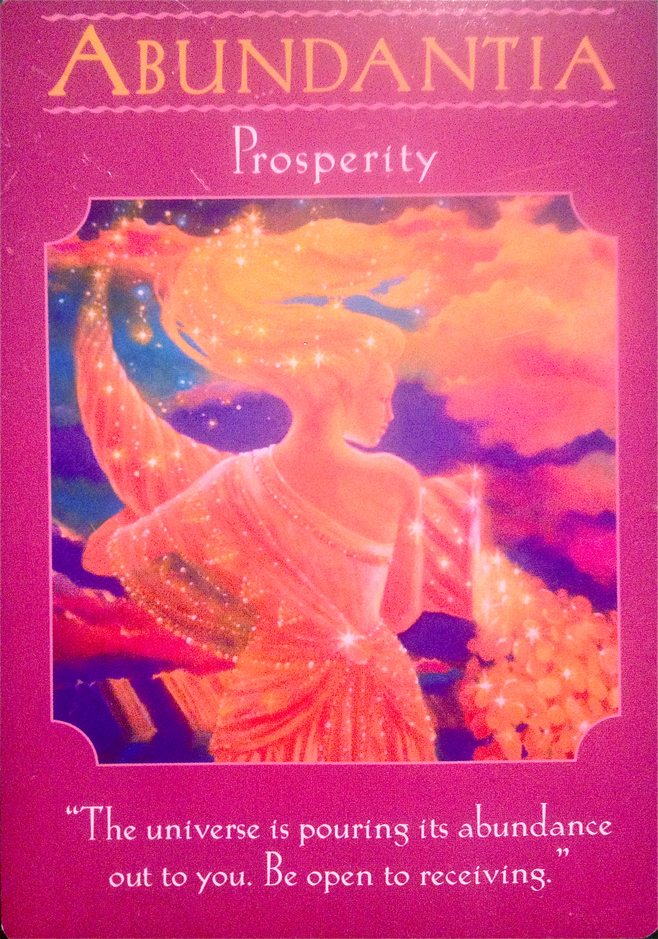 Abundantia ~ Goddess of Prosperity – Archangel Oracle