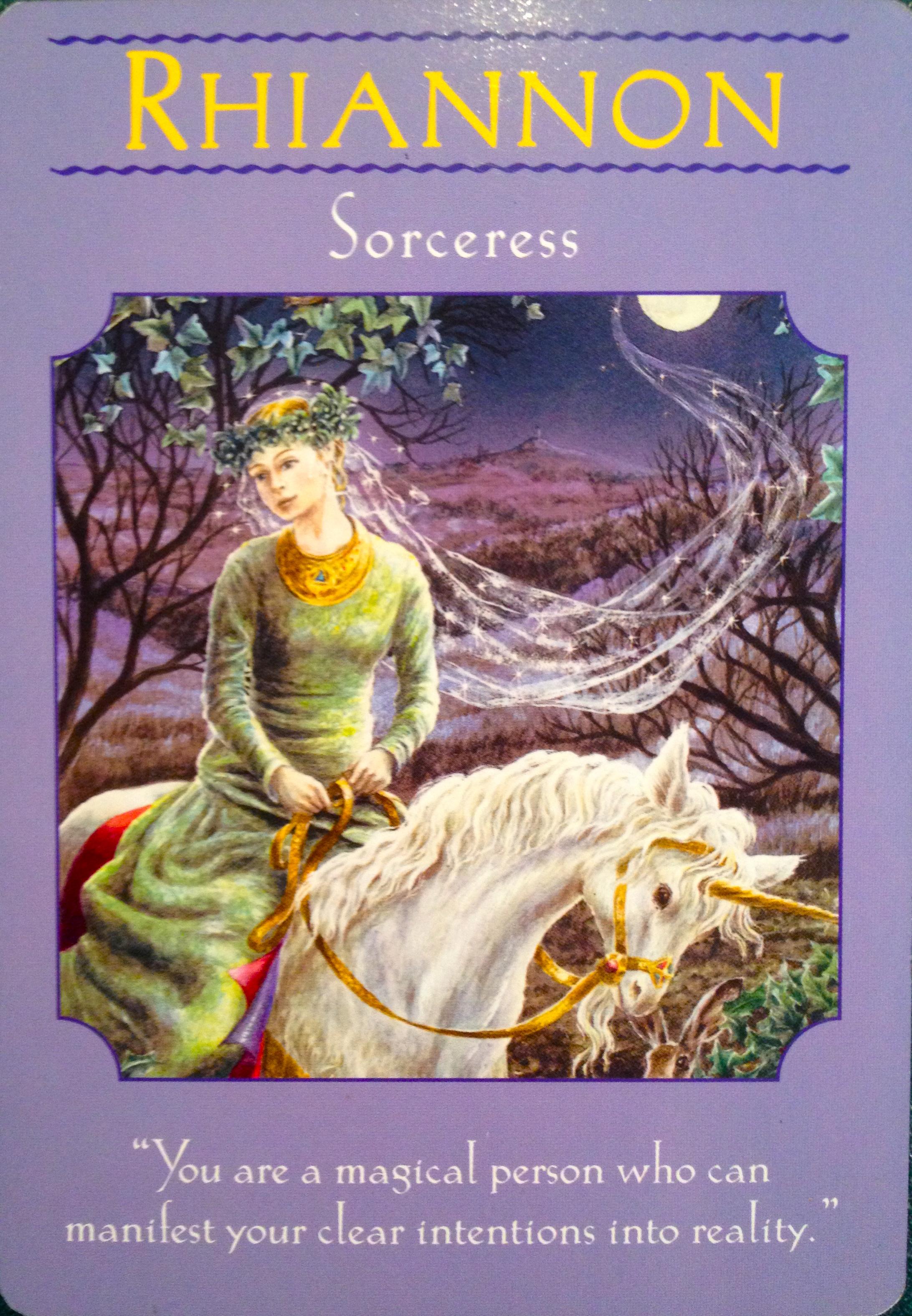 Rhiannon Sorceress Archangel Oracle