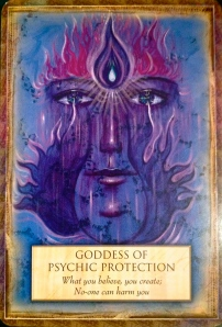 Goddess of Psychic Protection