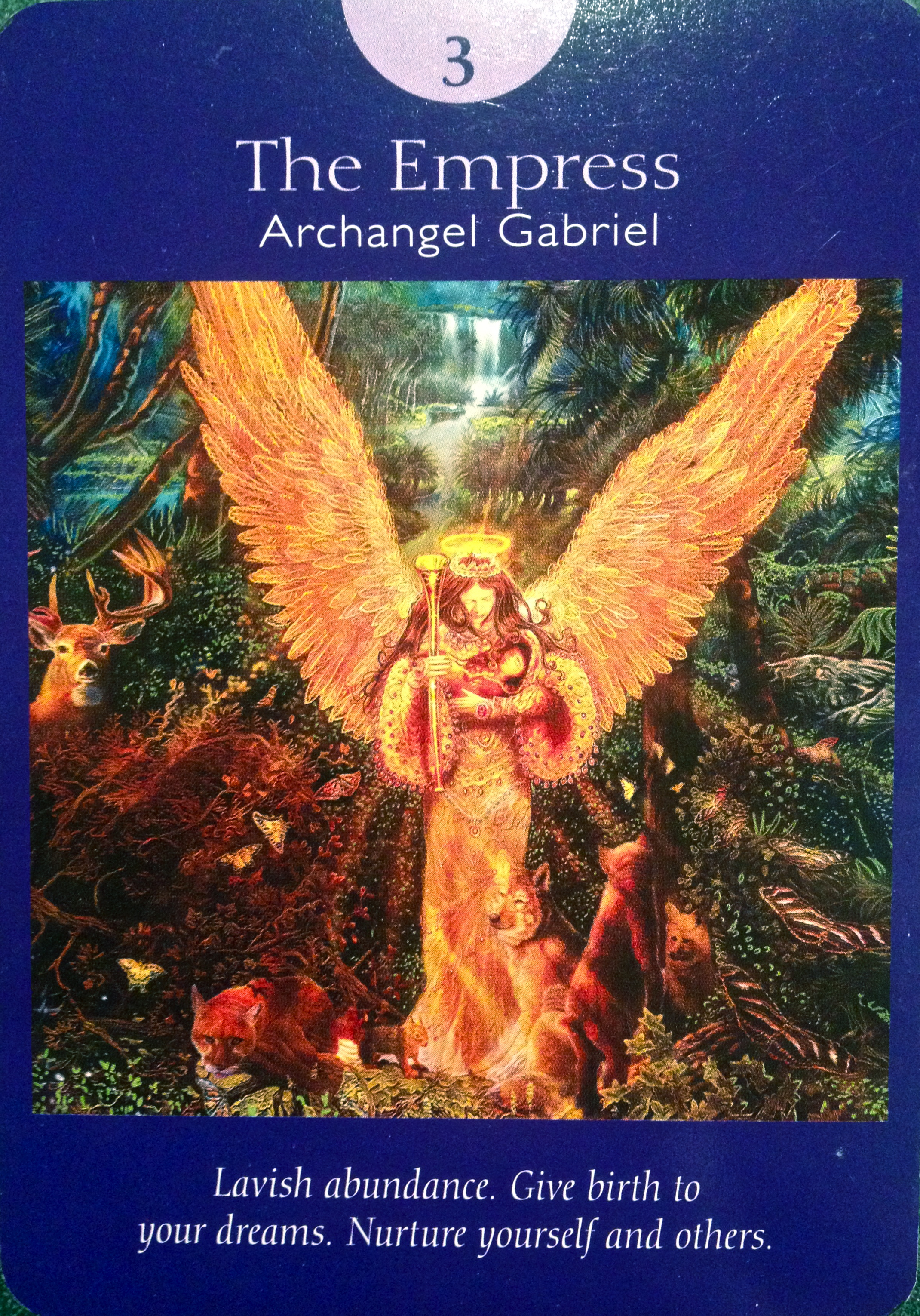 Archangel Gabriel ~ The Empress