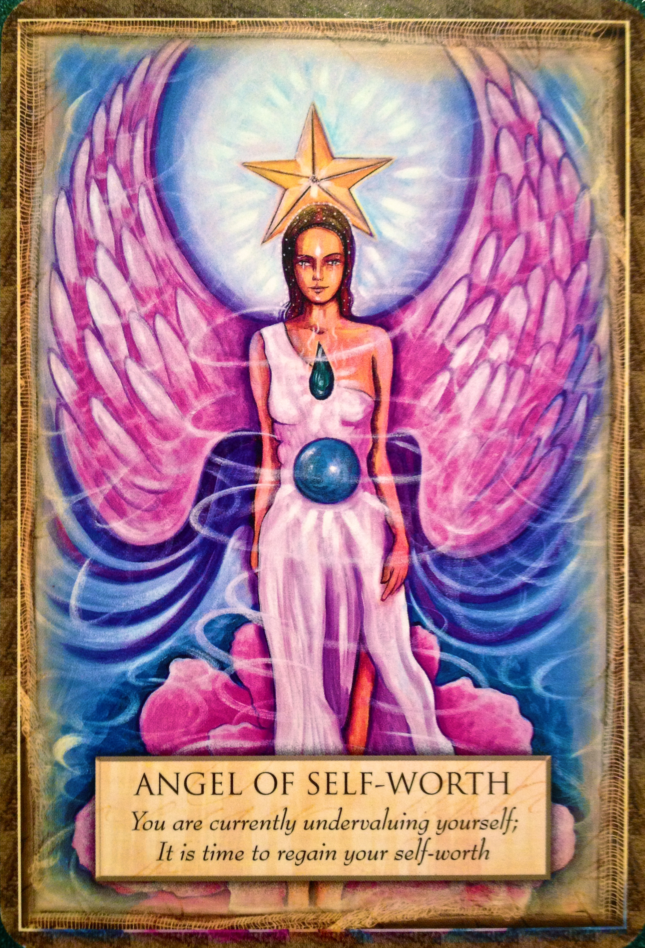 Archangel Oracle Divine Guidance: Angel Of Self-Worth