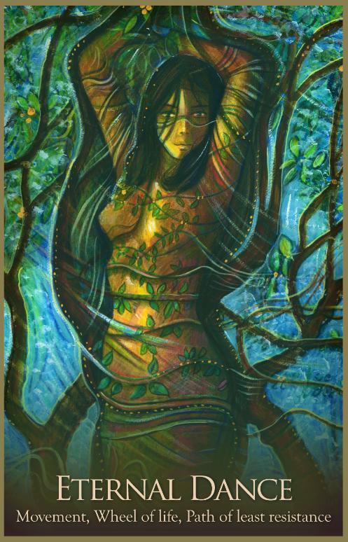 Eternal Dance Archangel Oracle Divine Guidance