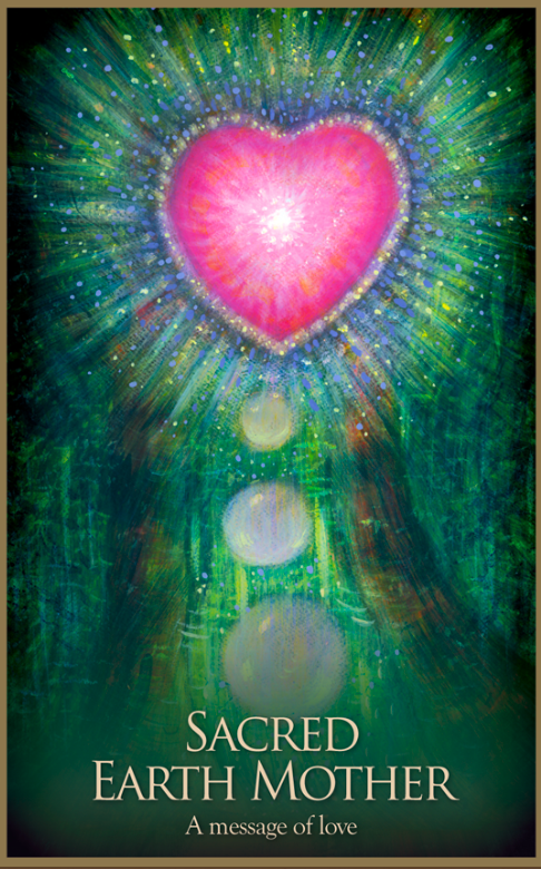Daily Angel Oracle Card  from the Gaia Oracle Card deck  by Toni    Gaia Oracle Cards