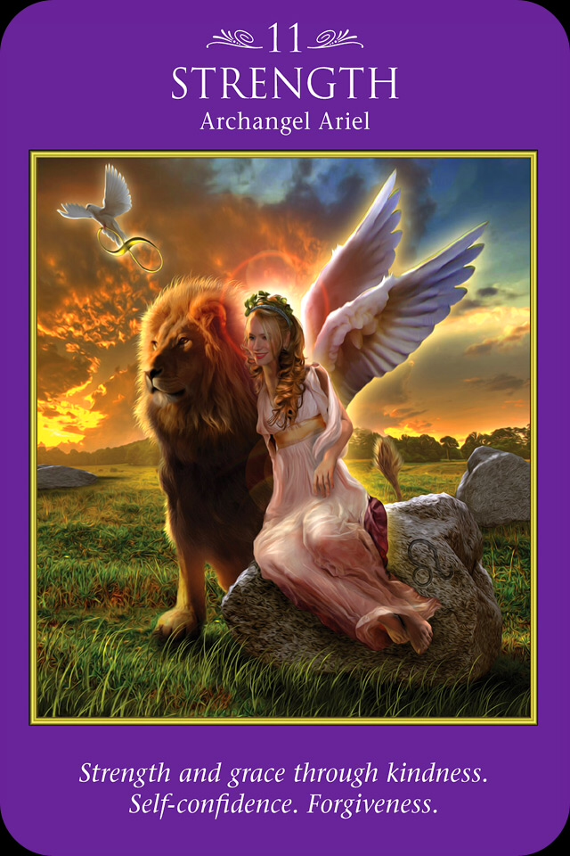 Archangel Power Tarot Cards Perspective: Archangel Oracle ~ Divine Guidance