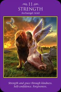 Archangel Ariel  strength