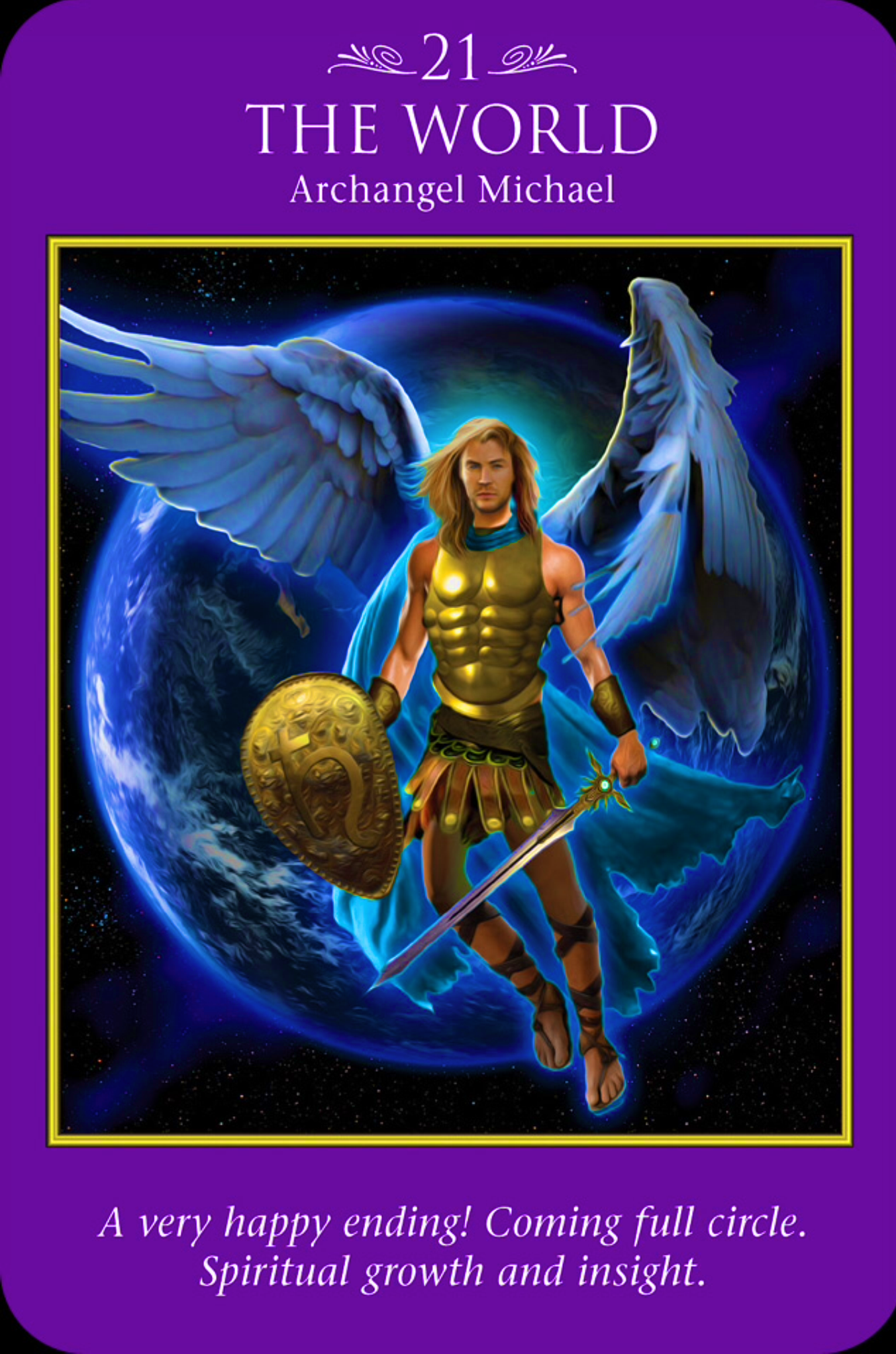 Archangel Oracle Divine Guidance: Archangel Power Tarot Cards