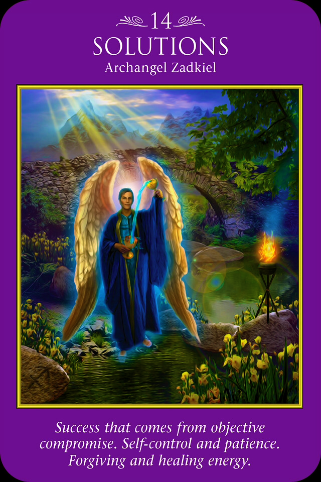 Archangel zadkiel pictures