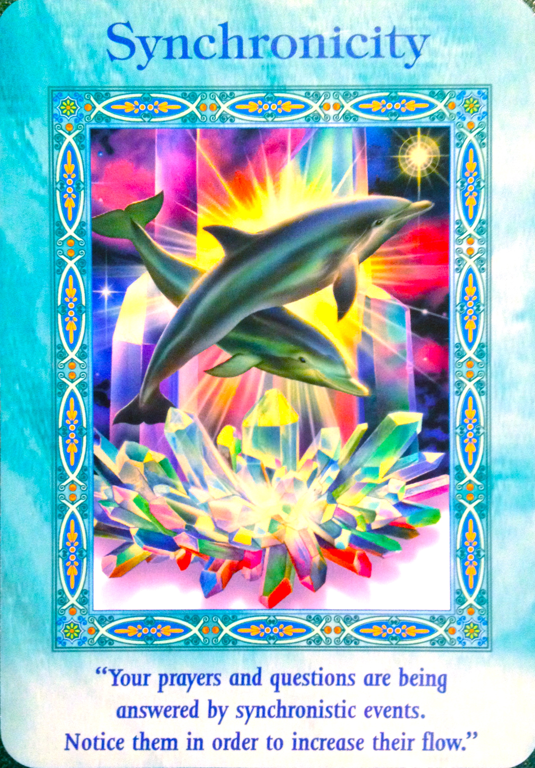 Oracle Card Accept Heaven S Help: Magical Mermaids And Dolphins