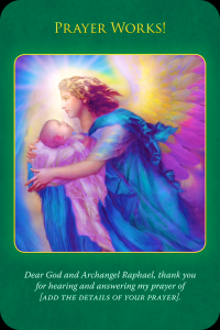 Archangel Raphael prayer works