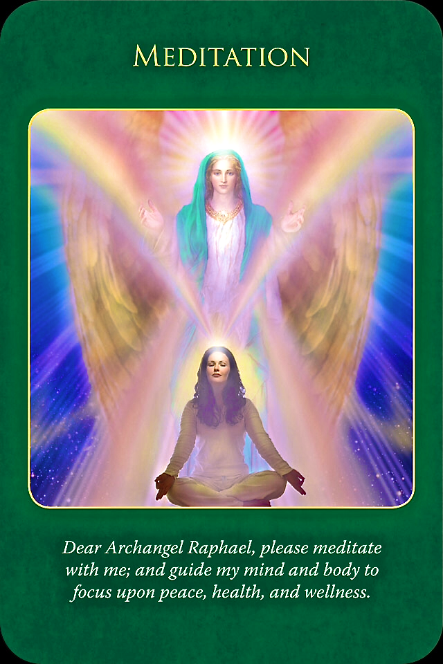 Archangel Raphael Healing Oracle | Archangel Oracle ...