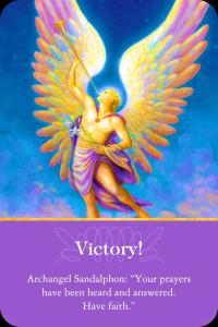 Archangel Sandalphon victory