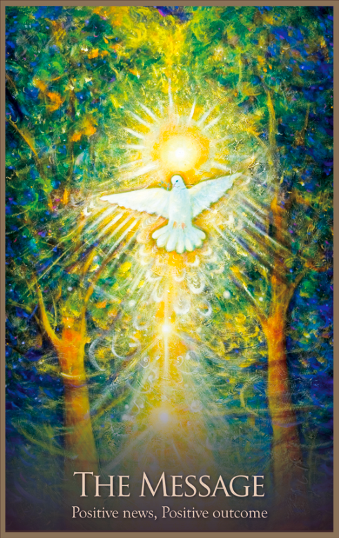 Gaia Oracle Cards Daily angel oracle card Gaia Oracle Cards