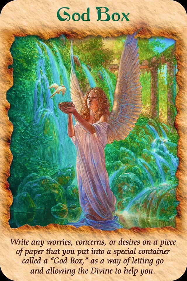Znalezione obrazy dla zapytania angel therapy doreen virtue God box