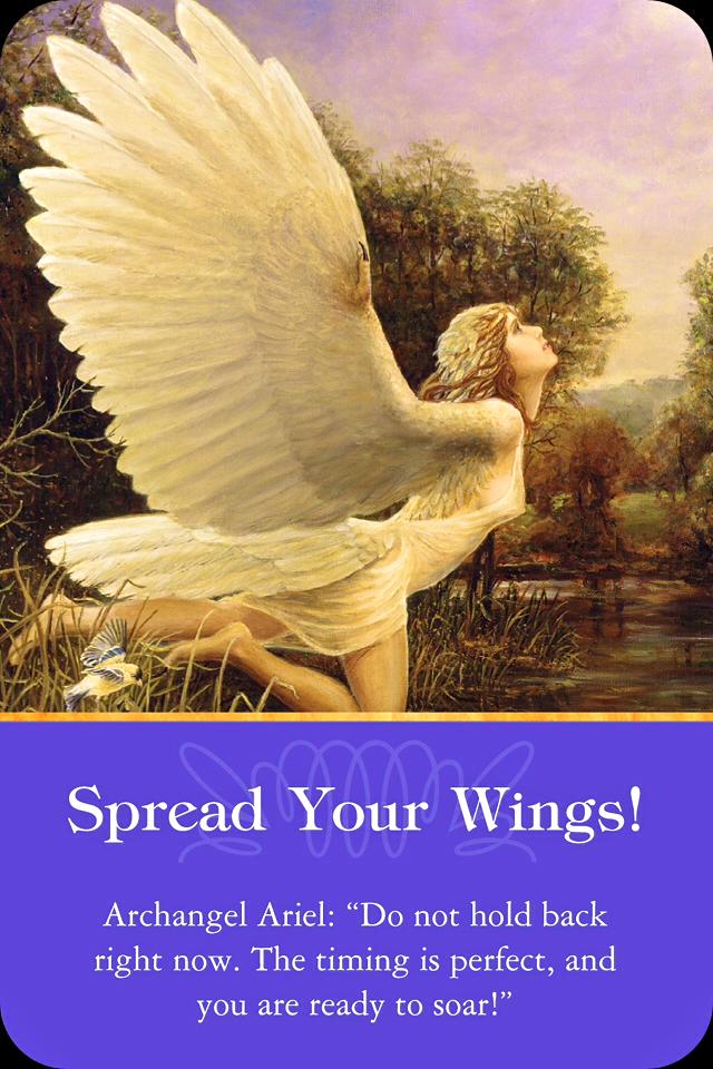 Archangel Ariel: Spread Your Wings! – Archangel Oracle