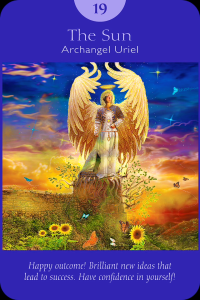 archangel uriel, the sun