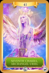 archangel uriel, seventh chakra
