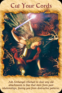 Archangel Michael, Cut Your Cords