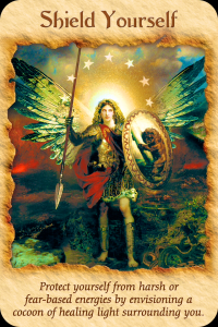 Archangel Michael, shield yourself