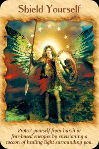 Archangel Michael, shield yourself