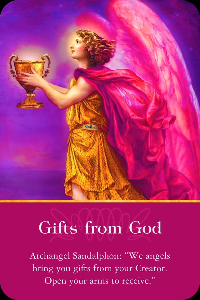 Archangel Sandalphon ~ Gifts From God – Archangel Oracle