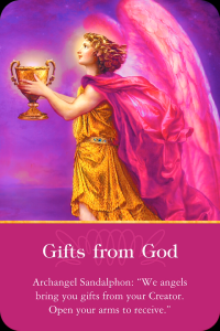 Archangel Sandalphon Gifts from God