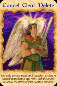 Archangel Michael ~ Cancel, Clear, Delete