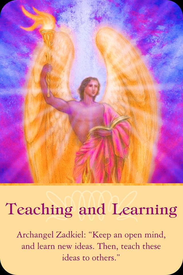 Archangel Zadkiel Archangel Oracle Divine Guidance