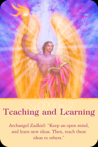 Archangel Zadkiel ~ Teaching And Learning