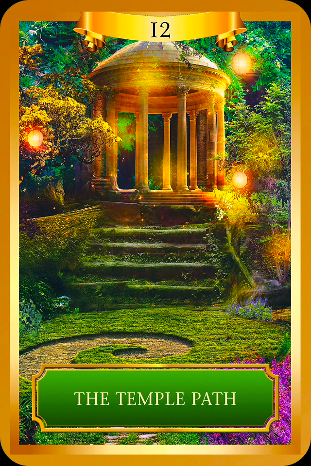 The Temple Path Archangel Oracle Divine Guidance