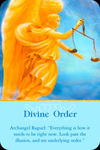 Archangel Raguel ~ Divine Order