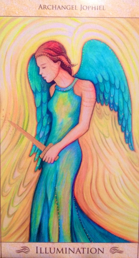 Archangel Jophiel illumination