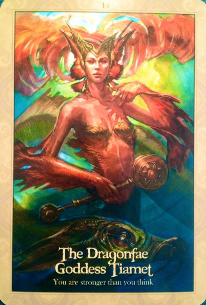 The Dragonfae Goddess Tiamet