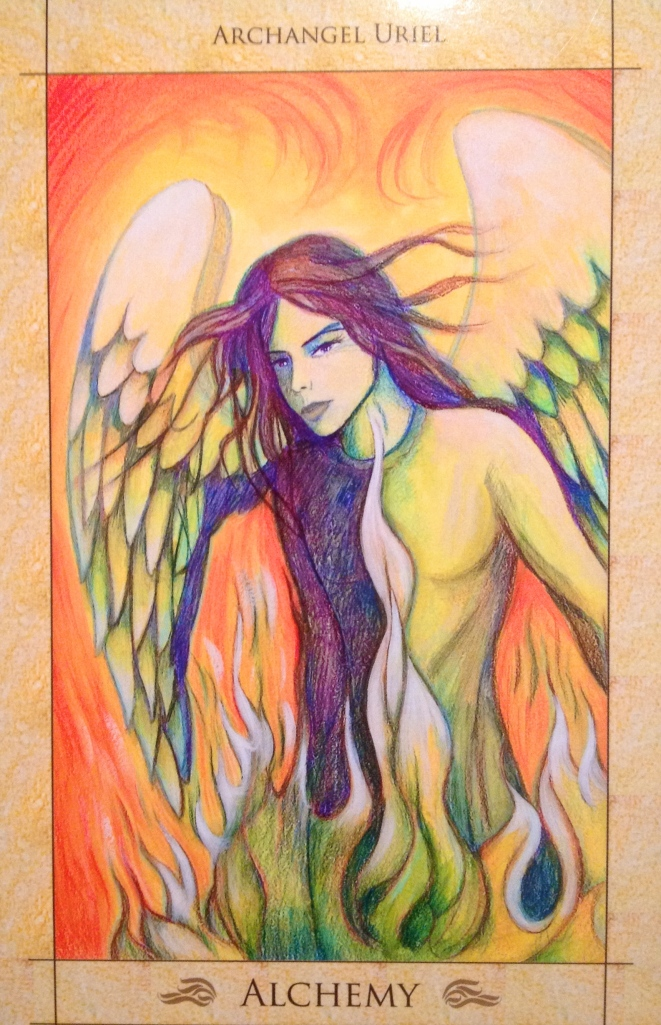 Archangel Uriel, alchemy