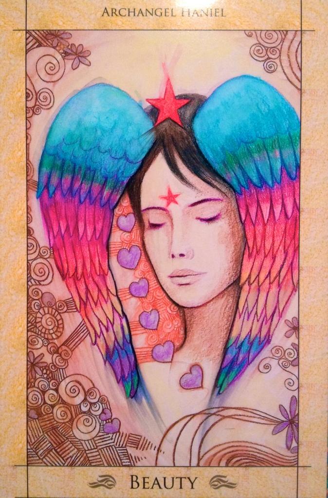 Archangel Haniel beauty
