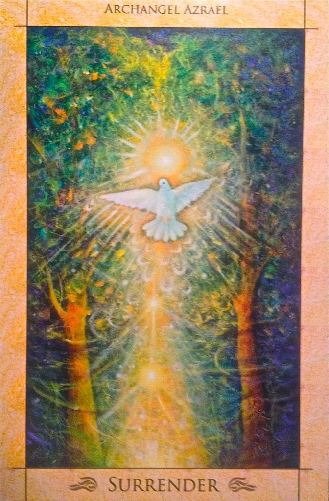 Archangel Azrael surrender