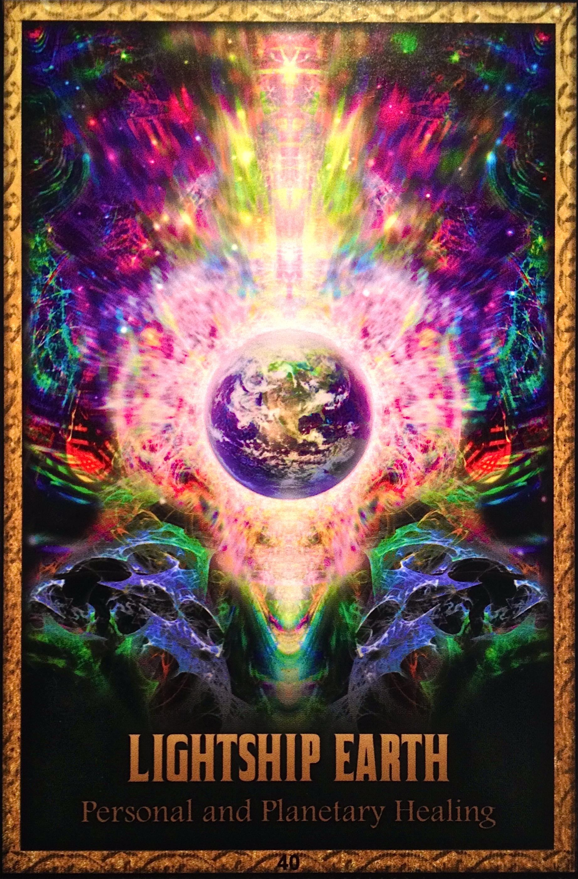 Tarot spirit cards