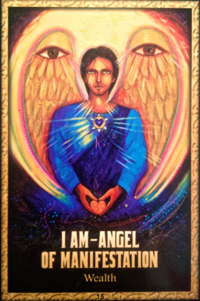 I AM angel of manifestation