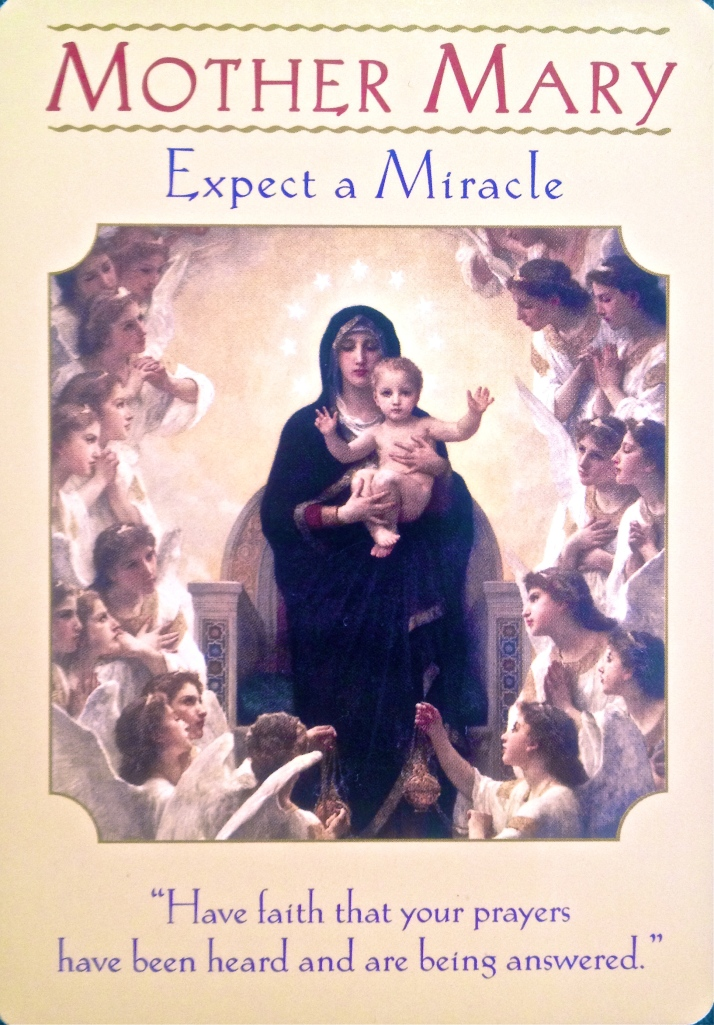 Mother Mary expect a miracle