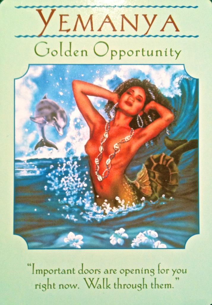 Yemanya ~ Golden Opportunity