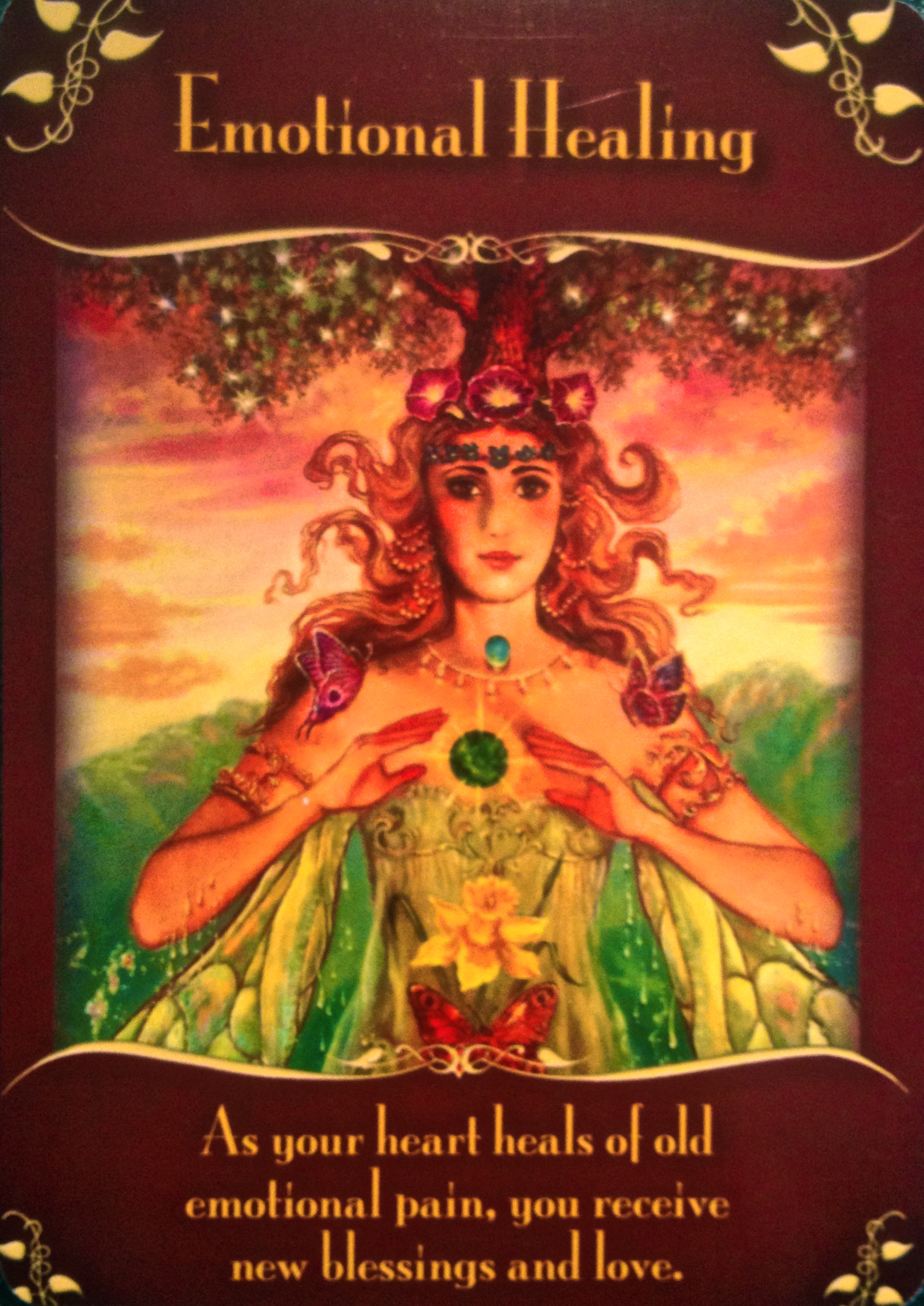 Oracle Card Accept Heaven S Help: Magical Messages From The Fairies
