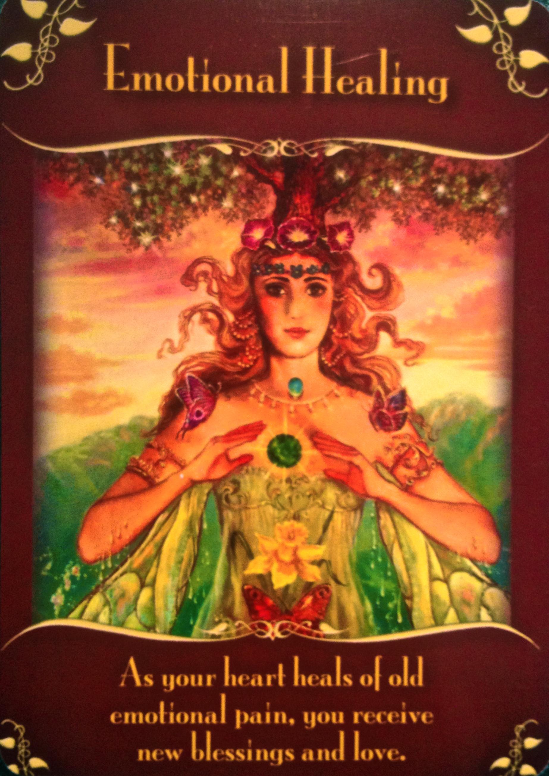 Emotional Healing – Archangel Oracle