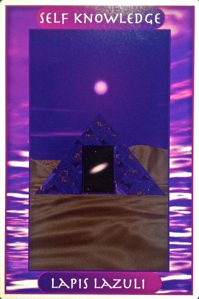 Lapis Lazuli self knowledge