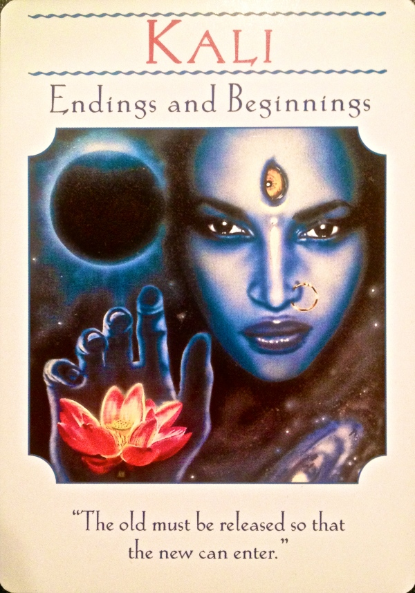 Kali endings and beginnings
