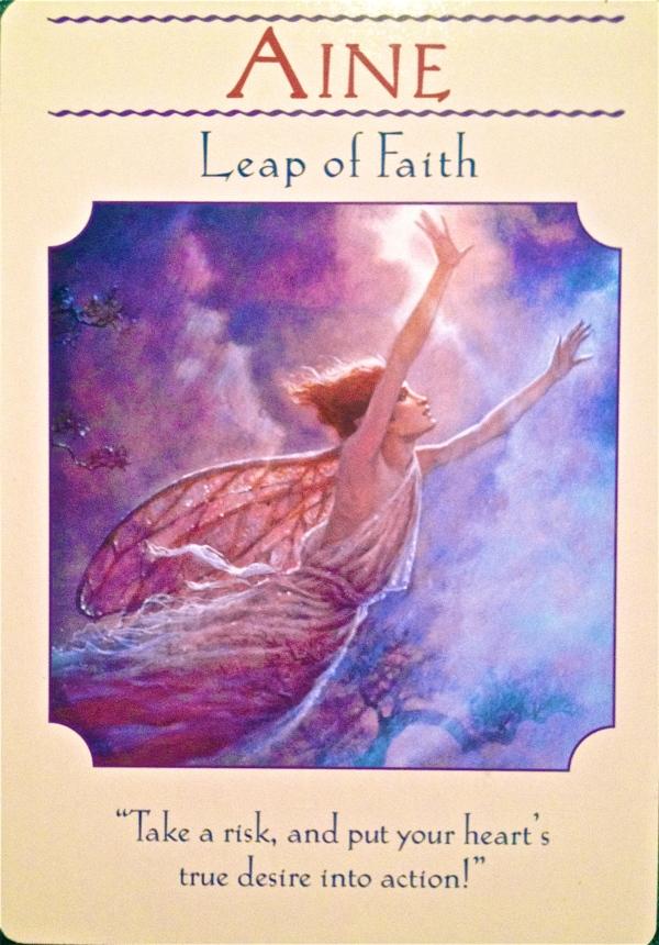 Aine leap of faith