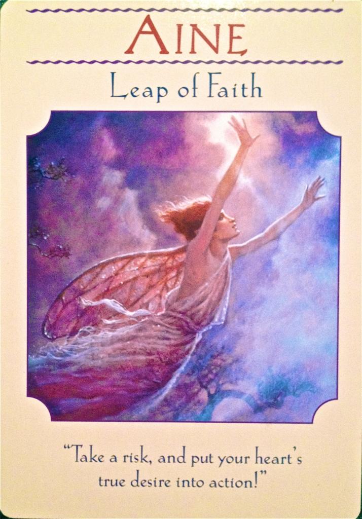 Aine, Leap Of Faith