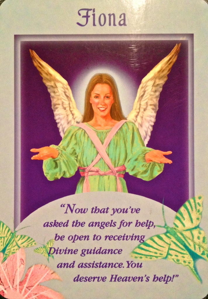 Messages From Your Angels Oracle Card deck, by Doreen Virtue, Ph.D